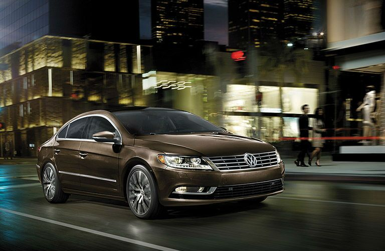 The 2016 VW CC will turn heads as it cruises the streets.