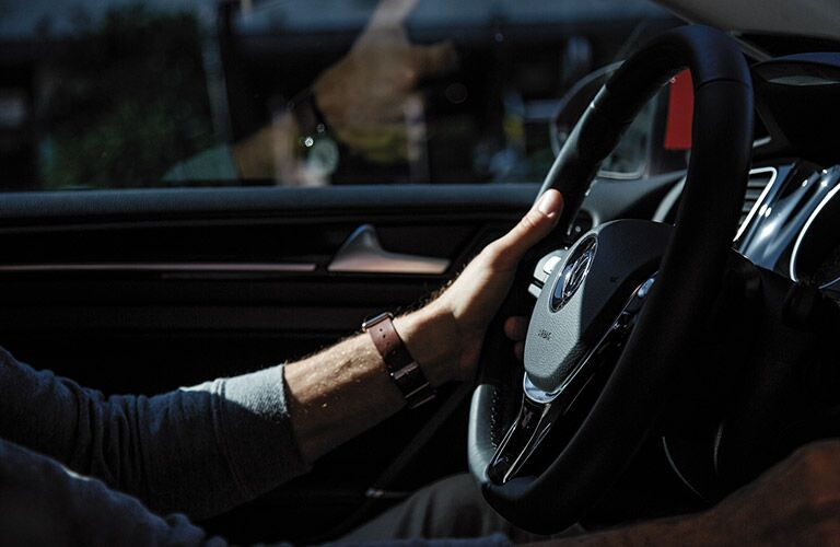 2016 VW Golf steering wheel
