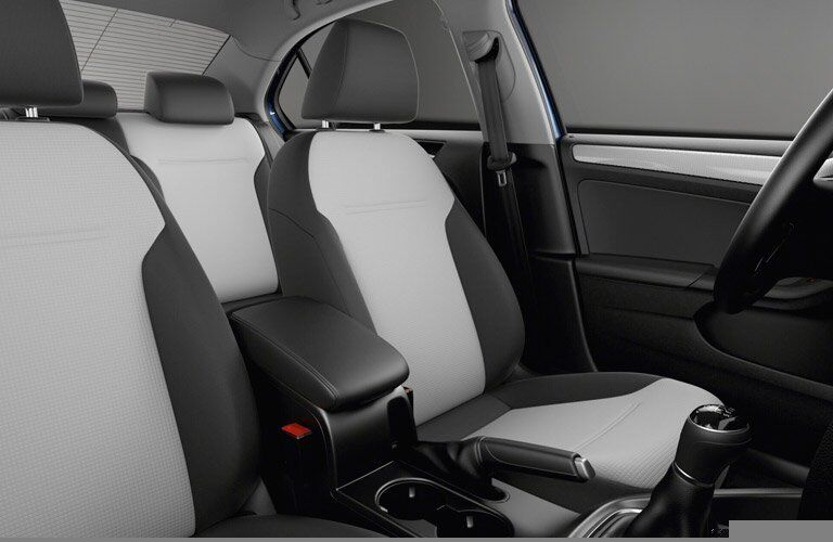 2017 Volkswagen Jetta Two-Tone Seating