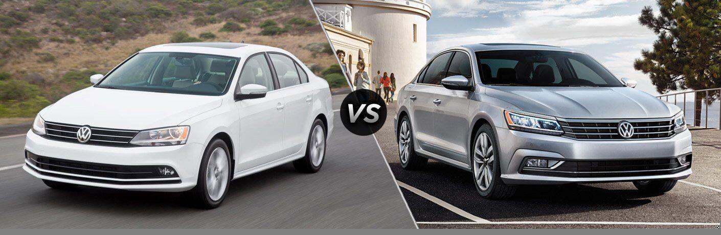2017 Volkswagen Jetta vs 2017 Volkswagen Passat
