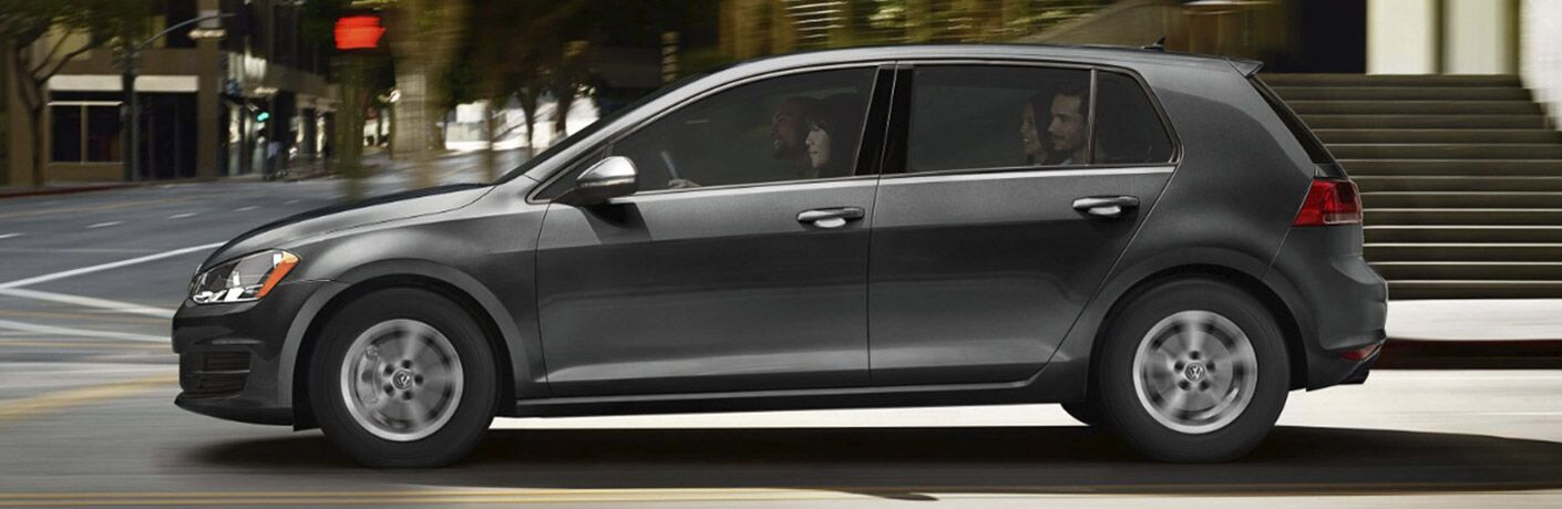 gray 2017 VW Golf exterior side