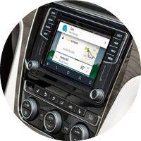 2017 VW Passat navigation screen