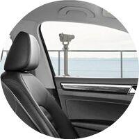 2017 VW Passat interior chair top