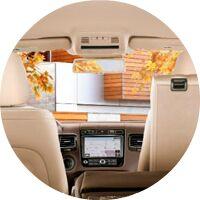 2017 VW Touareg interior cargo space and seats
