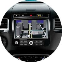 2017 VW Touareg navigation screen