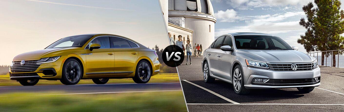 2019 Volkswagen Arteon vs 2019 Volkswagen Passat