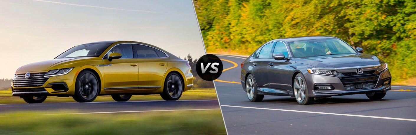 2019 Volkswagen Arteon vs 2018 Honda Accord