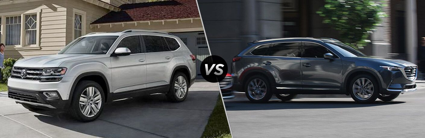 2019 Volkswagen Atlas vs 2019 Mazda CX-9