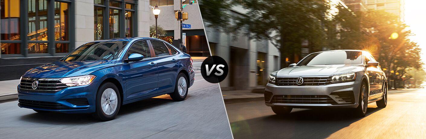 2019 Volkswagen Jetta vs 2019 Volkswagen Passat