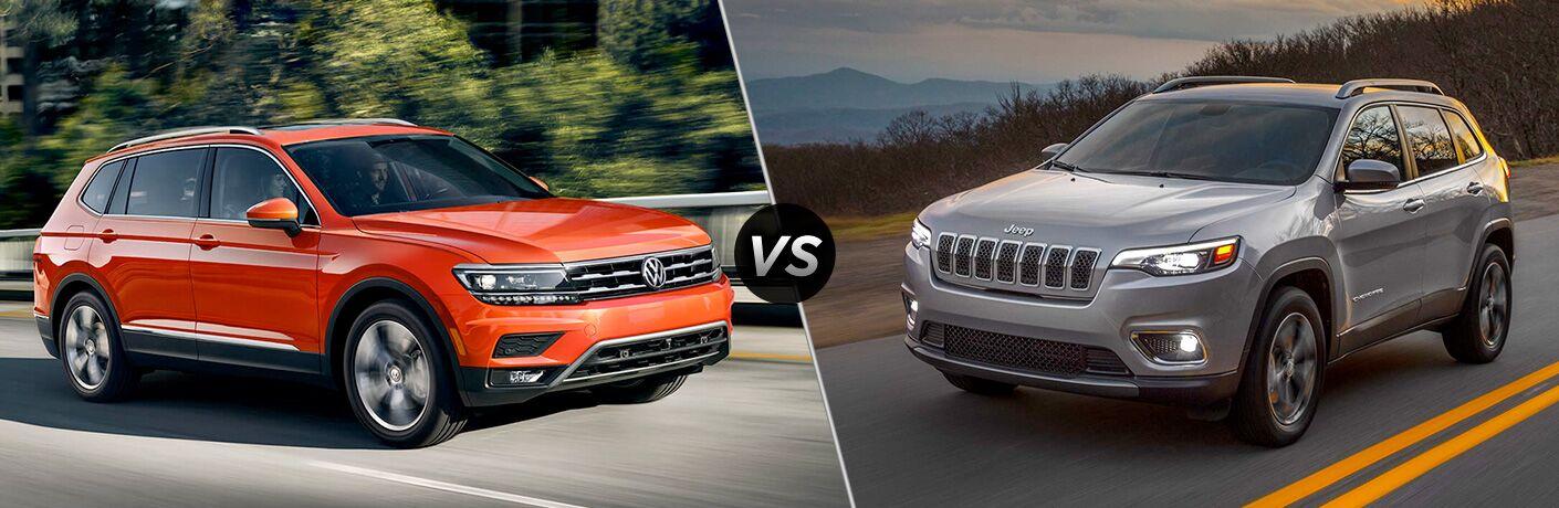 2019 Volkswagen Tiguan vs 2019 Jeep Cherokee