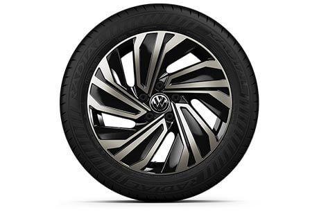 2019 Volkswagen Jetta's 17-inch Alloy Wheels
