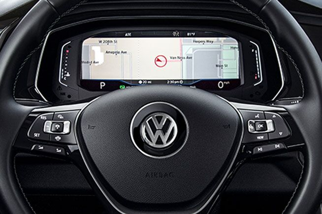 2019 Volkswagen Jetta's Digital Cockpit