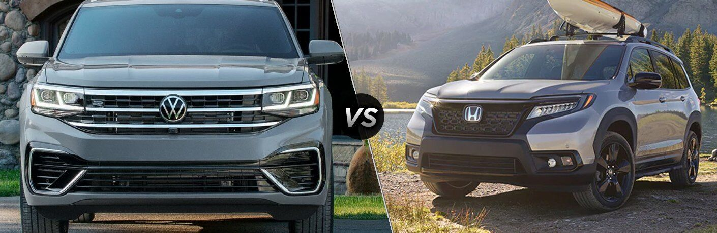 2020 Volkswagen Atlas Cross Sport versus 2020 Honda Passport