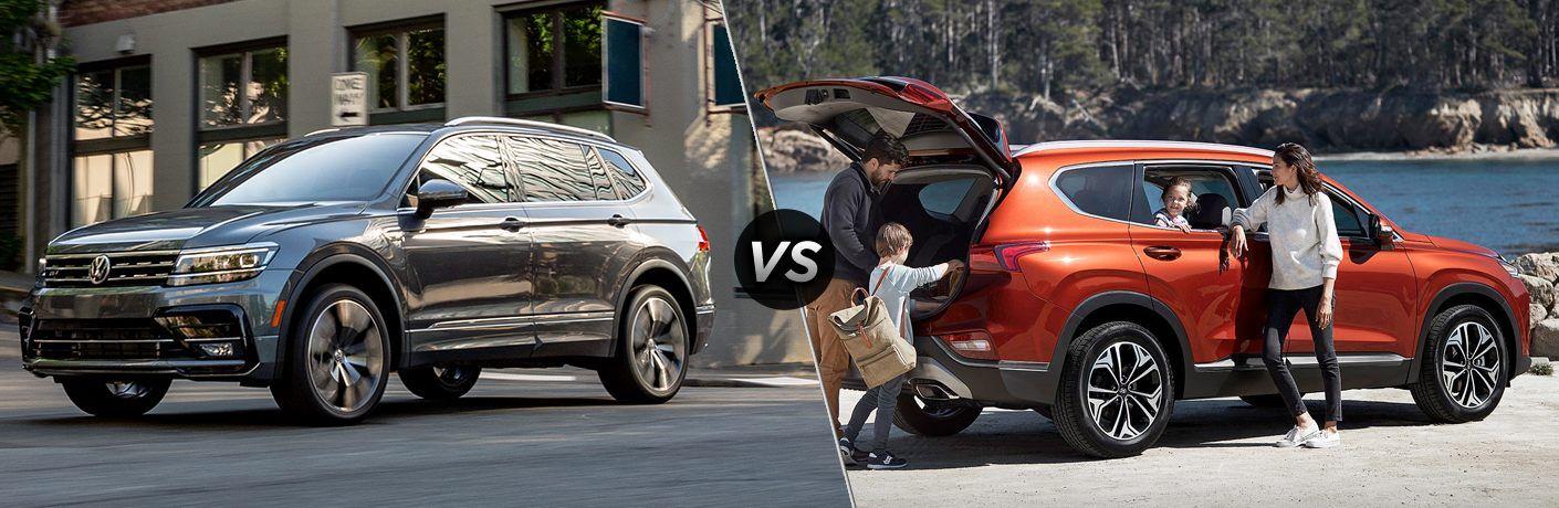 2020 VW Tiguan Versus 2020 Hyundai Santa Fe