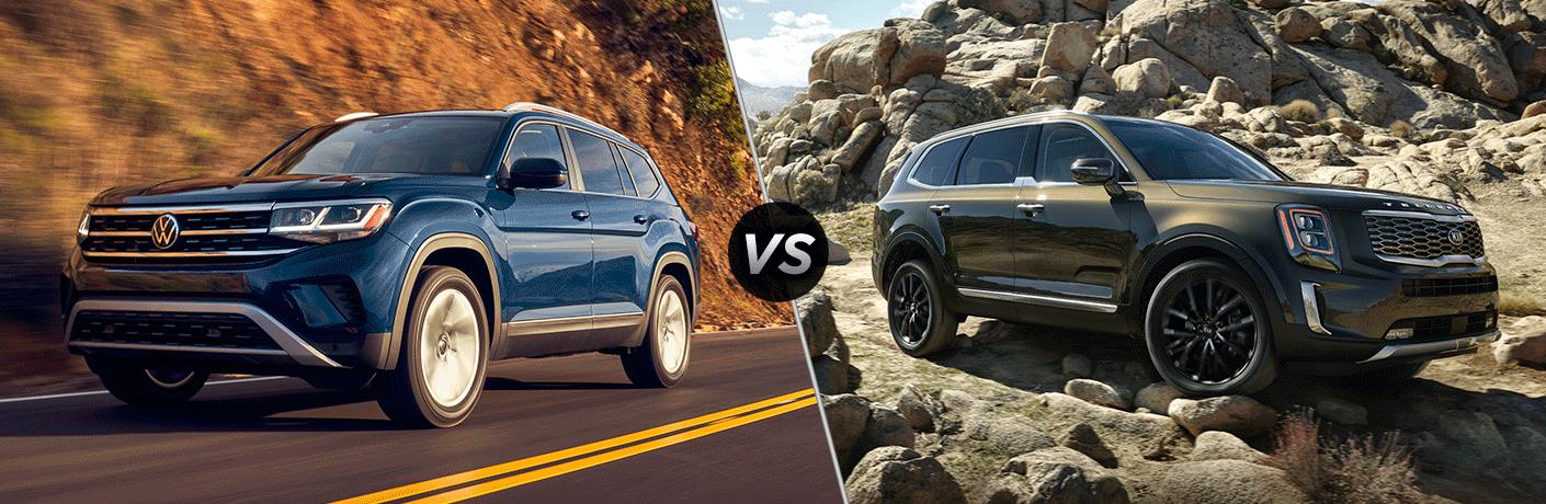 2021 Volkswagen Atlas vs 2021 Kia Telluride