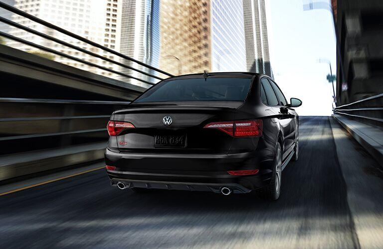 2021 Volkswagen Jetta GLI ascends a ramp