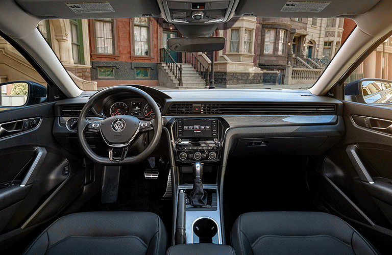 2021 Volkswagen Passat dashboard