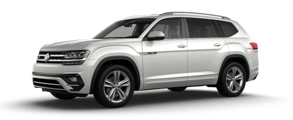 2019 Volkswagen Atlas SE trim