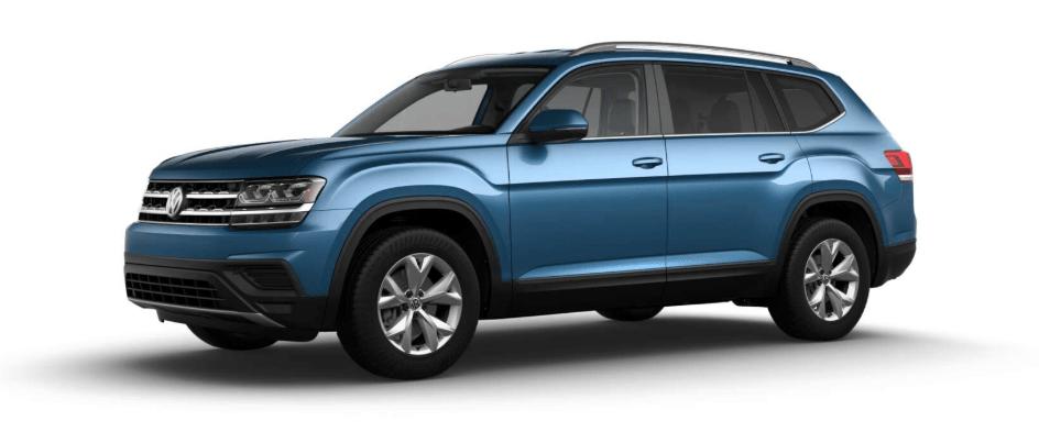2019 Volkswagen Atlas S trim
