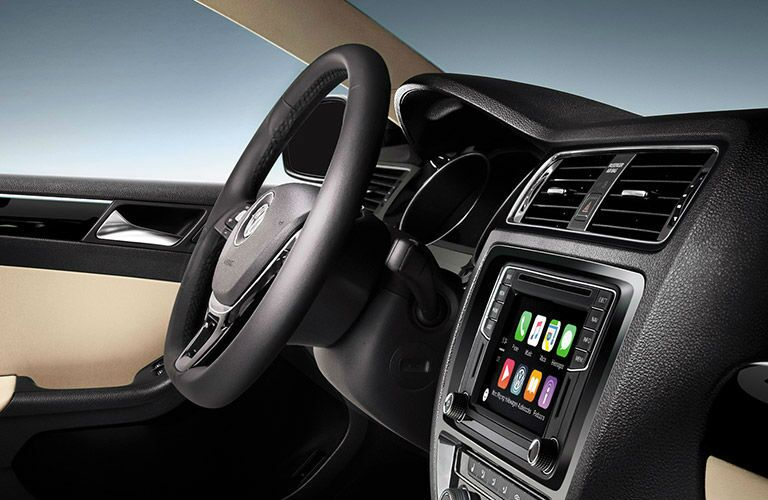 2016 Volkswagen Jetta interior steering wheel