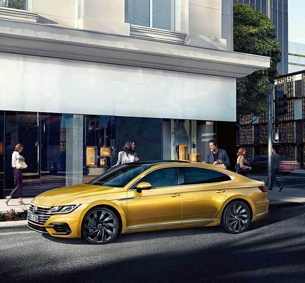 2019 Volkswagen Arteon's Bold Exterior Styling