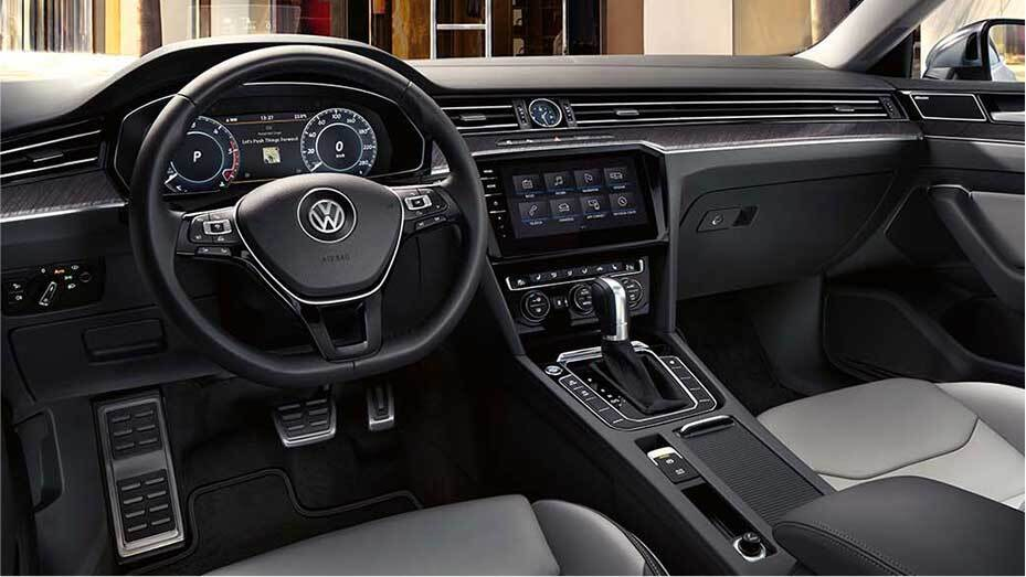 The 2019 Volkswagen Arteon's Interior Amenities