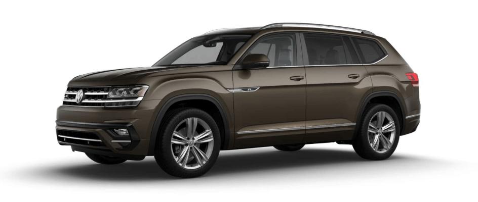 2019 Volkswagen Atlas sel trim