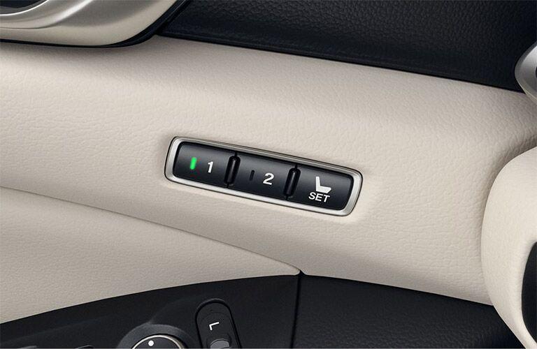 2019 Honda Accord seat adjuster