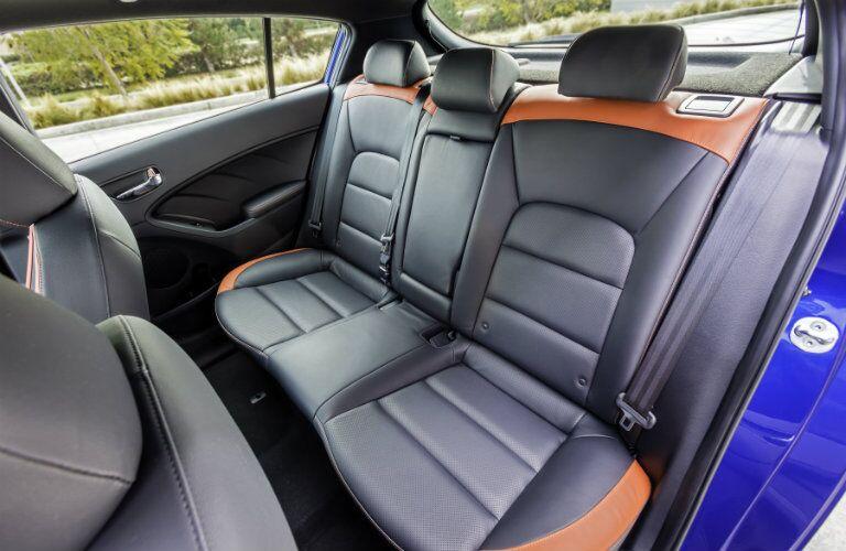 rear interior of a 2018 Kia Forte5