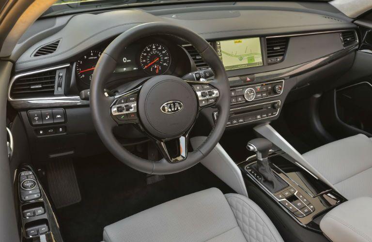 2019 Kia Cadenza Interior Cabin Dashboard