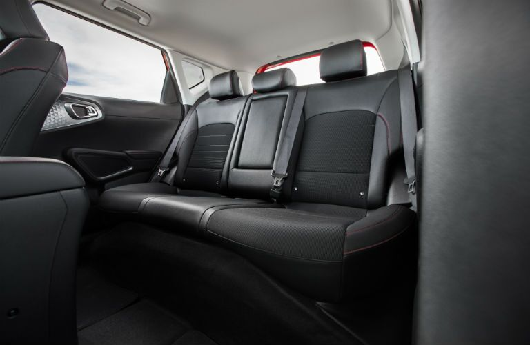 Another photo of the rear seats in the 2020 Kia Soul.