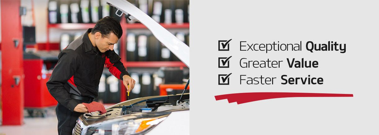 Exceptional Quality. Greater Value. Faster Service.
