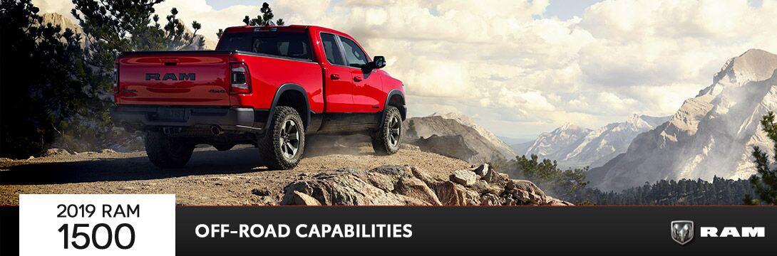 2019 Ram 1500 Off-Road Capabilities | Owego, NY