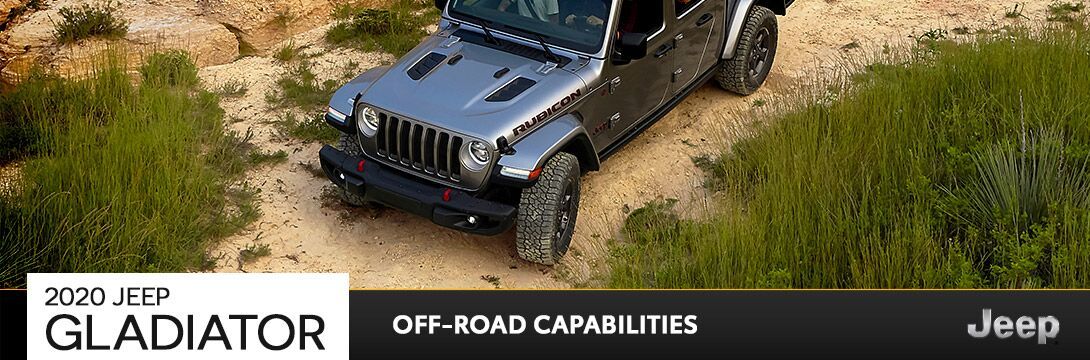 2020 Jeep® Gladiator Off-Road Capabilities | Owego, NY