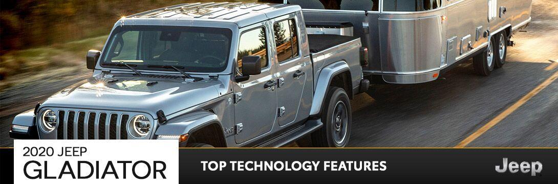 2020 Jeep Gladiator Technology | Owego, NY
