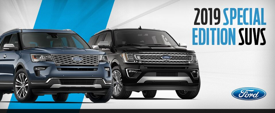 2019 Ford Special Edition SUVs