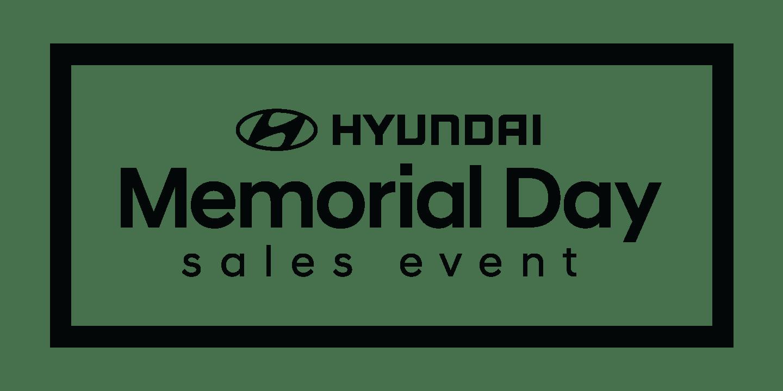 2019 hyundai memorial day sales event