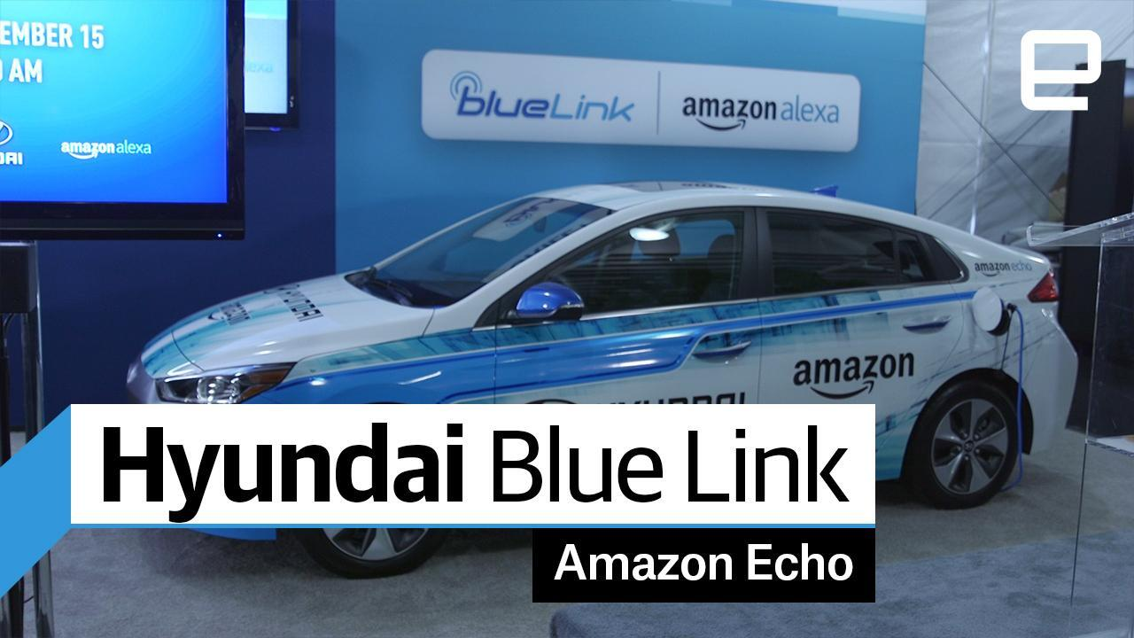 hyundai cars with alexa