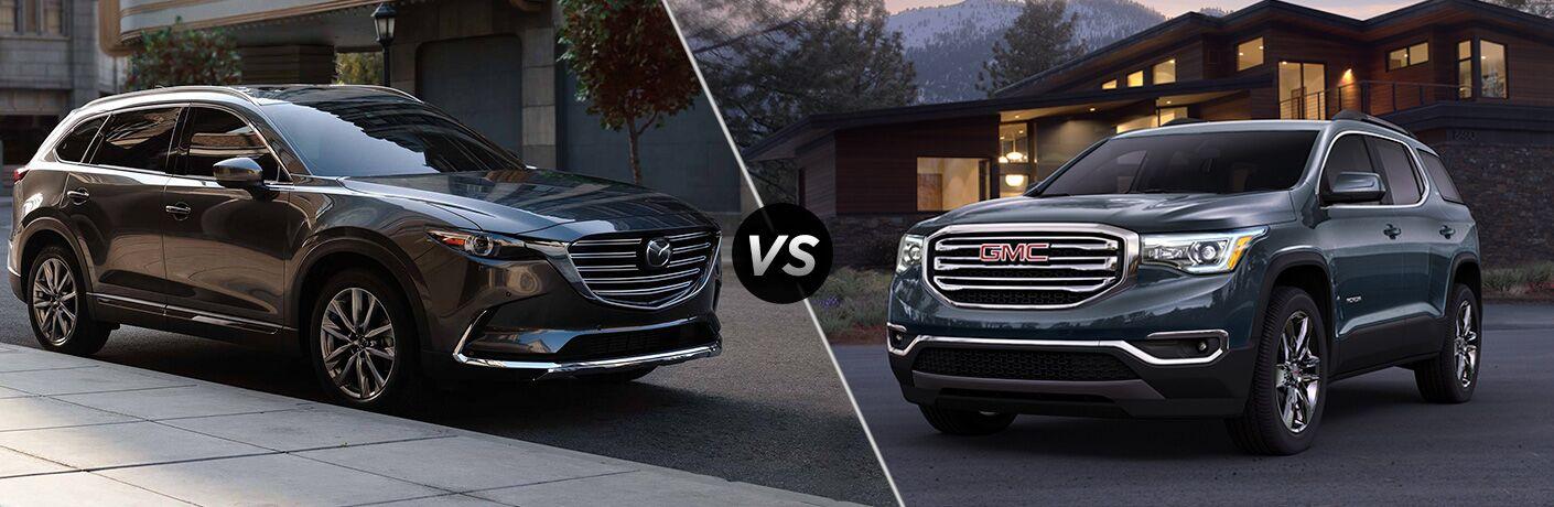 2019 Mazda CX-9 vs 2019 GMC Acadia
