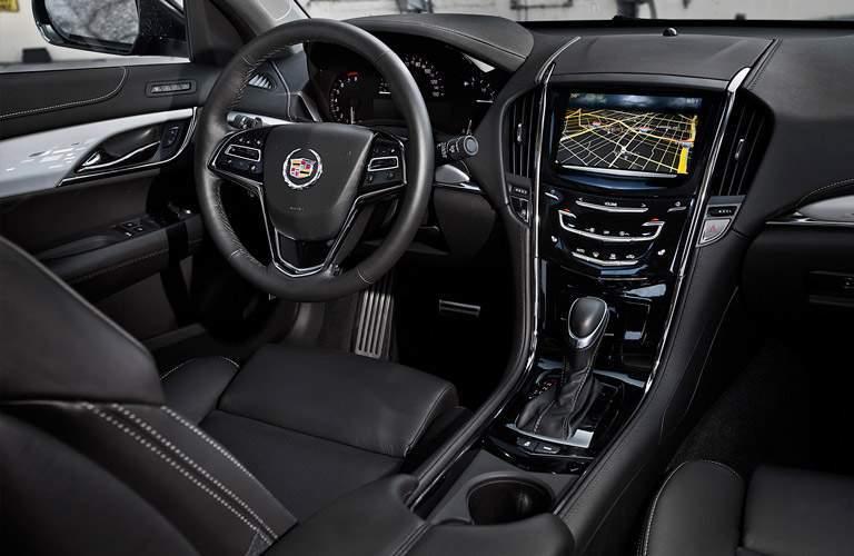 Interior dashboard design of used Cadillac ATS