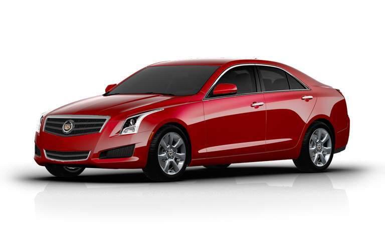 Used red Cadillac ATS