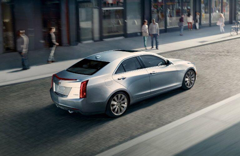 2016 Cadillac ATS Silver
