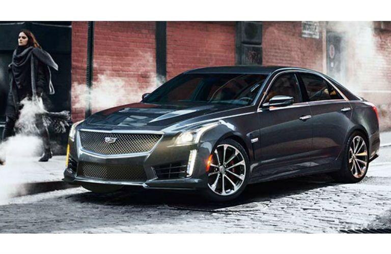 2016 Cadillac CTS-V Gray