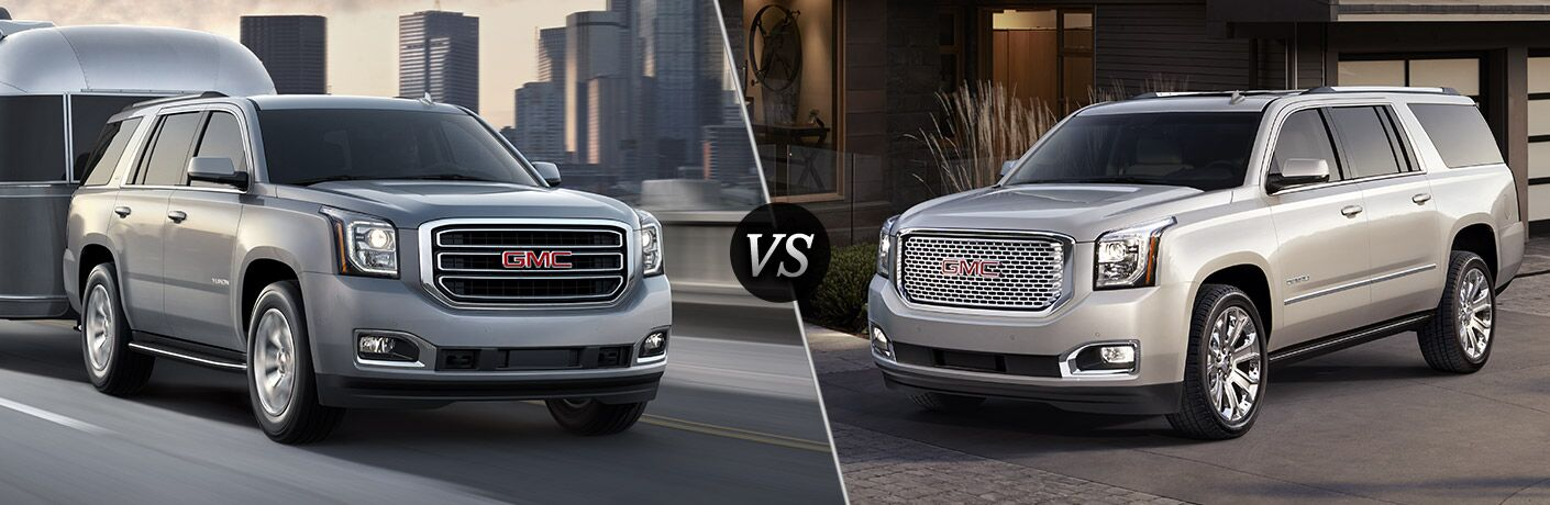 2016 gmc yukon slt vs 2016 gmc yukon denali. Black Bedroom Furniture Sets. Home Design Ideas