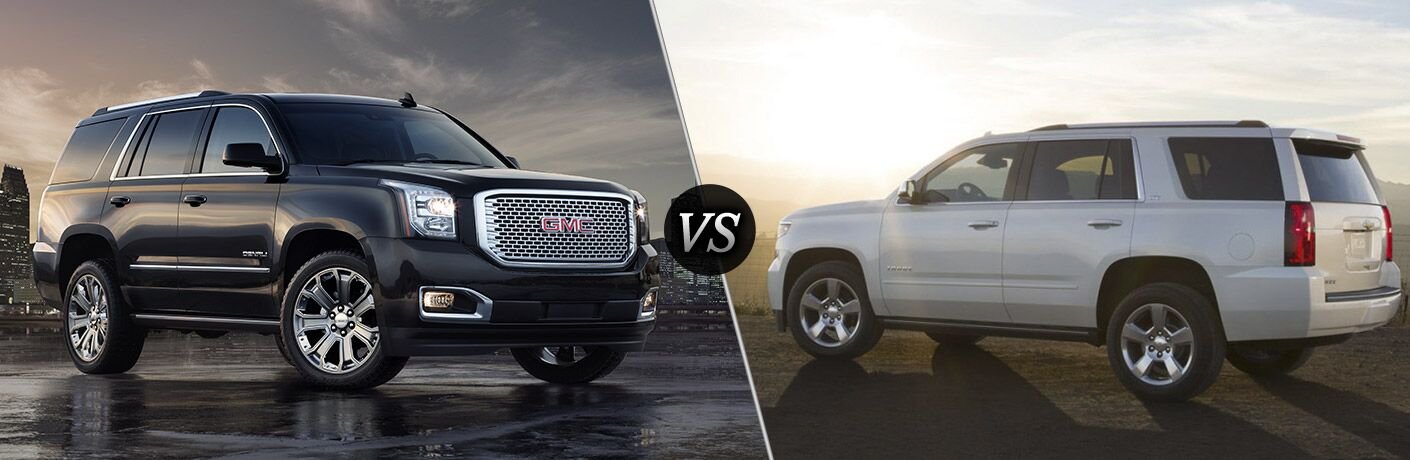 Chevy Tahoe Vs Gmc Yukon >> 2016 Gmc Yukon Vs 2016 Chevy Tahoe