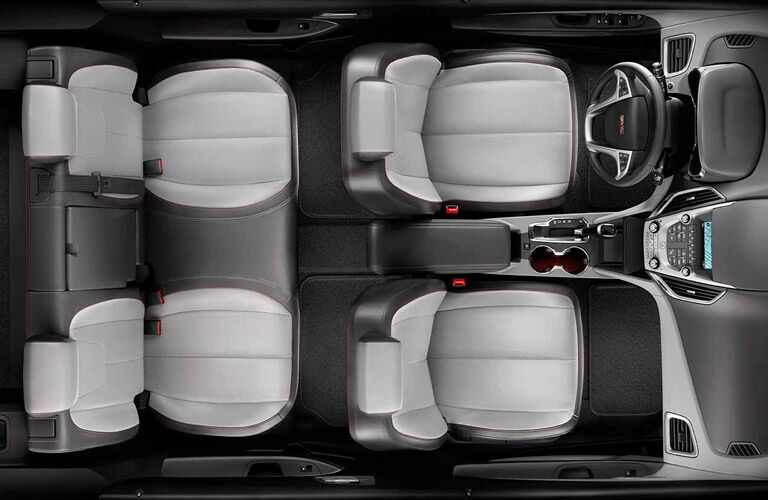 2017 GMC Terrain Rear Passenger Space