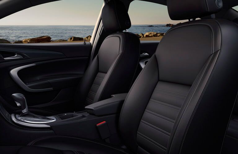 2017 Buick Regal Black leather interior