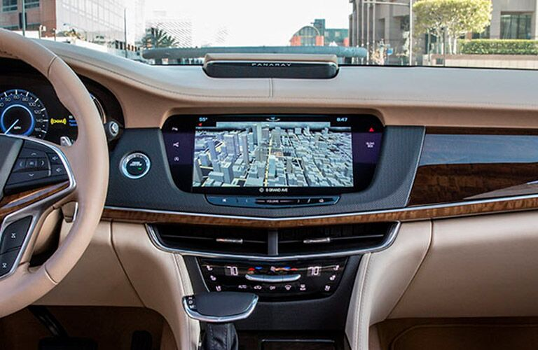 2017 Cadillac CT6 Voice Activated Navigation