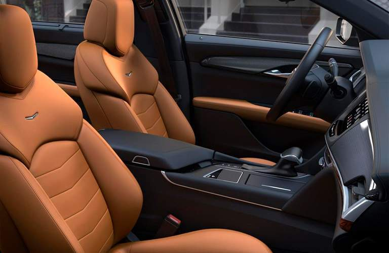 2018 Cadillac CT6 front seat option
