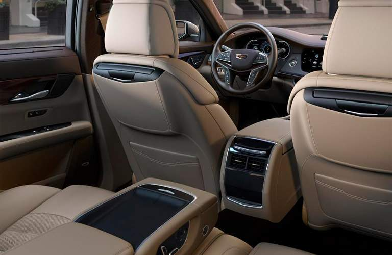 2018 Cadillac CT6 rear seat space